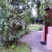 Allée, entrée principale