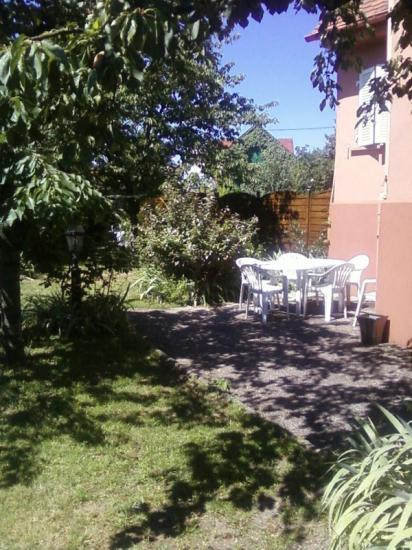 En alsace gite jardin entre colmar mulhouse et vignoble - Jardin terrasse toit mulhouse ...
